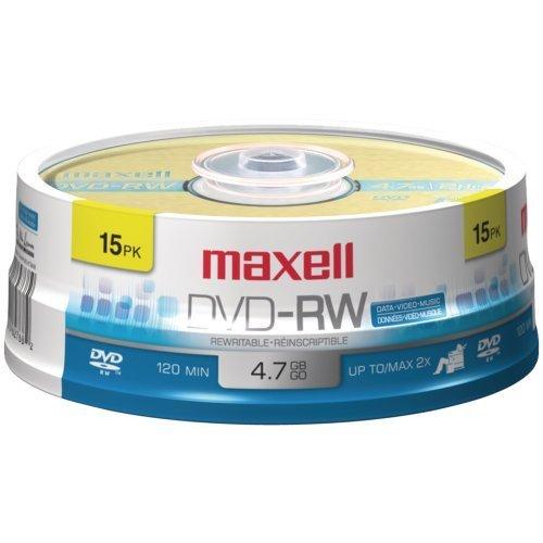 MAX635117 - Maxell 2x DVD-RW Media by Maxell