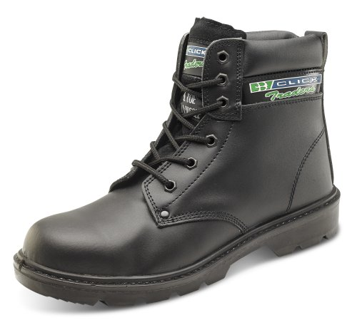 Click S3 Dual Density 6 Inch Safety Boot Black - Size 9