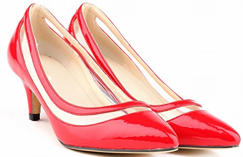 CFP red femme Sandales Compensées CFP Compensées femme CFP Sandales Sandales red vwYSan