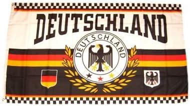 Flagge Deutschland Fu/ßball 4 Sterne Fan 90 x 150 cm Fahne