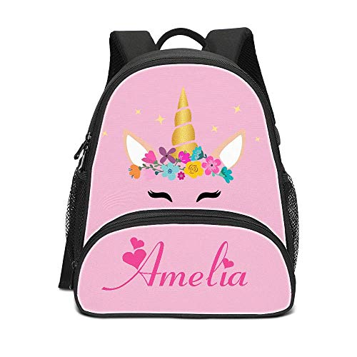 Custom Name Children School Backpack Personalized Toddler Bag For Kids]()