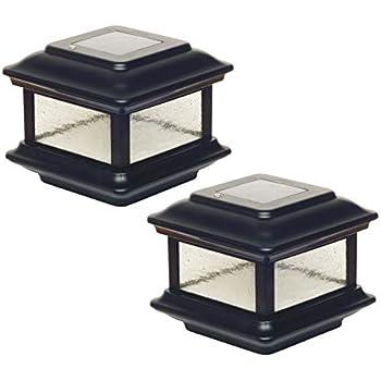 Amazon Com Classy Caps Sl088 4x4 Colonial Solar Post Cap