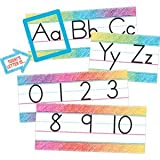 Teacher Created Resources Colorful Scribble Alphabet Line Bulletin Board