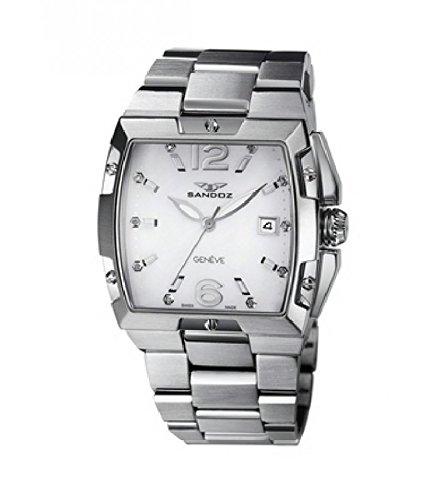 Reloj Sandoz Caractere 81282-00 Mujer Blanco