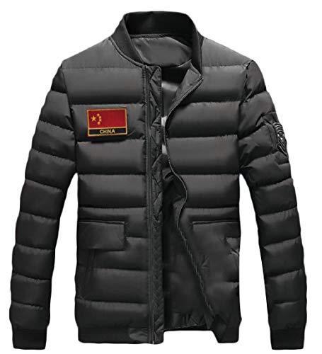 Lightweight Coat Men's Packable 4 Outwear Gocgt Ultra Quilted Loft Jacket 8PtqfS