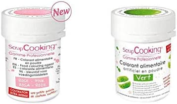 2 colorantes alimentarios en polvo - rosa palo-verde: Amazon ...