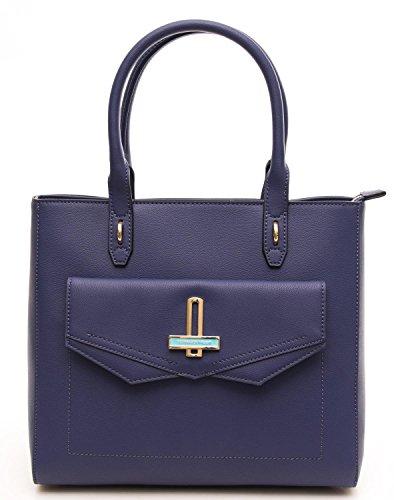 Donna Shopping Bag Myrtle Trussardi Borsa Blu ATgqOOnU