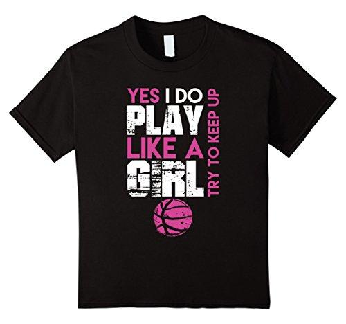 Girls Basketball T-Shirts - 1