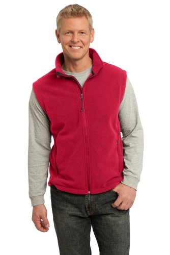Port Authority Men's Value Fleece Vest XL True Red