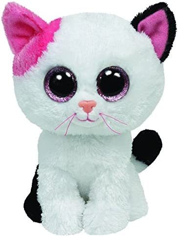 Anabelle the Cat Plush Regular Soft Big-eyed Stuffed 15cm Toy with Heart Tag
