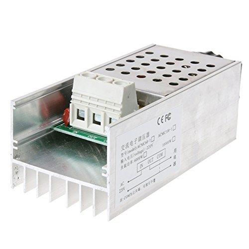 Awakingdemi Motor Speed Controller, 10000 W High Power SCR BTA10 Electronic Voltage Regulator Speed Controller (Power Controller Scr)