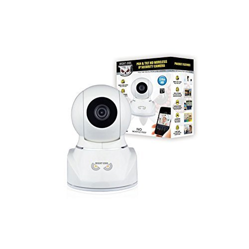 Night Owl Pan & Tilt HD Wireless IP Security Camera with Night Vision