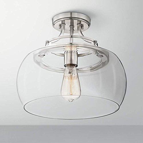 Large Glass Pendant Light Shade - 2