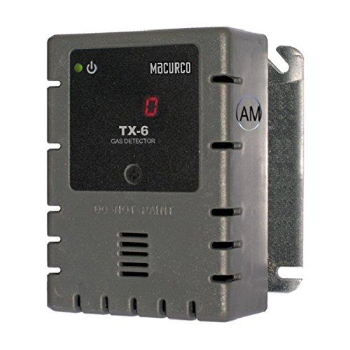 Detection Hydrogen Sulfide - Macurco TX-6-HS Macurco Hydrogen Sulfide Detector, Controller and Transducer