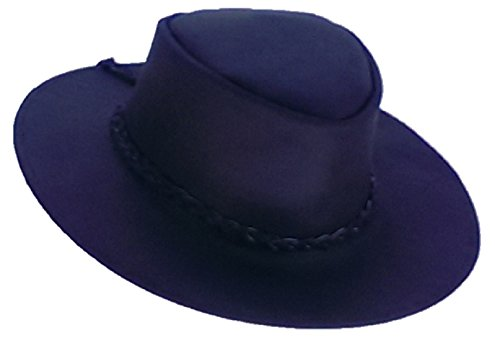 Sharpshooter Clint Eastwood Good Bad Ugly Black Leather Cowboy Hat ()