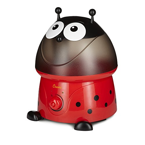 Crane USA Filter-Free Cool Mist Humidifiers for Kids, Lady Bug by Crane USA