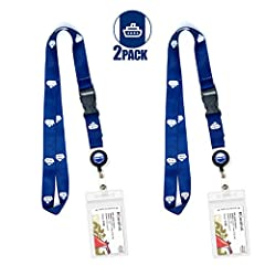 """You get TWO [2] Cruise Lanyard ID & Key Card Holder items. These must-have cruise accessories are essential for keeping track of your Cruise Key Card and looking """"Cruise Chic"""" while doing so.   The heavy duty, premium nylon will last for..."""