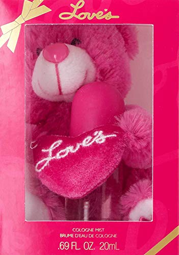 Dana Love's Baby Soft Gift Set with Teddy Bear & Perfume for Women