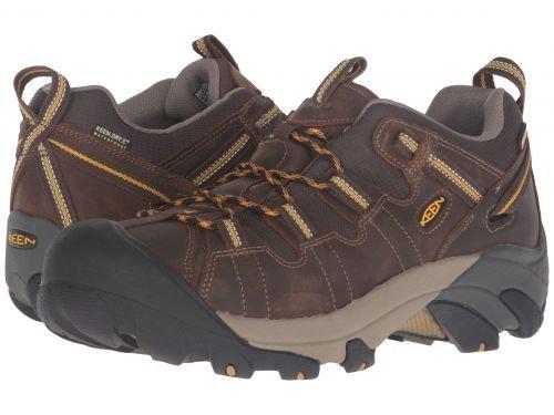 Keen(キーン) メンズ 男性用 シューズ 靴 スニーカー 運動靴 Targhee II - Cascade Brown/Golden Yellow [並行輸入品] B07C8GRZQ1