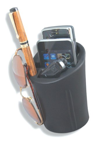 Heininger Black 1073 CommuteMate Car Cup Holder for Cell Phones