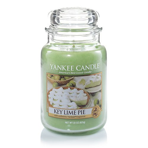 Yankee Candle Key Lime Pie Large Jar Candle ,Food & Spice Scent (Pie Candle Tarts)