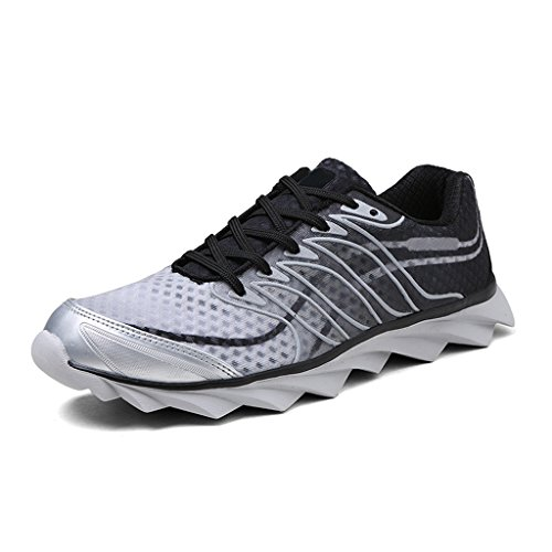 ALEADER Women's Running Shoes Fashion Walking Sneakers Black 8.5 D(M) US