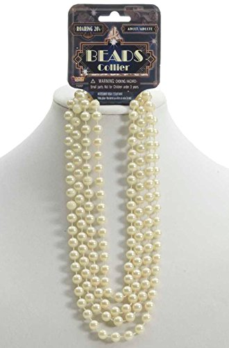 1920 Theme Party Ideas (Forum Novelties Women's One Size Roaring 20's Beads 72