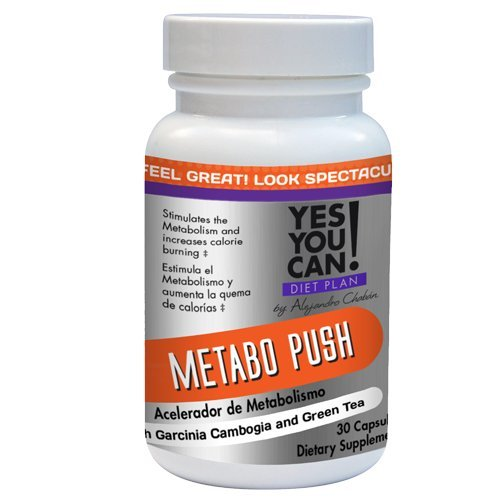 Yes You Can! Diet Plan Metabo Push, 30 Tablets