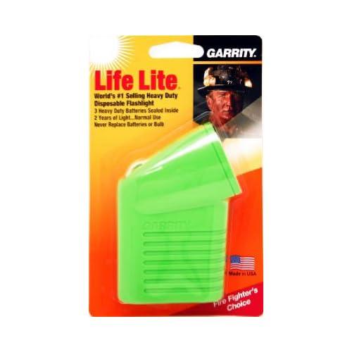 (6) ea Garrity 65-015 Life Lite HD Disposable Flashlights in Asstd Colors