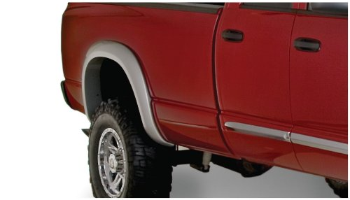 Bushwacker 50014-02 Dodge Extend-A-Fender Flare - Rear Pair