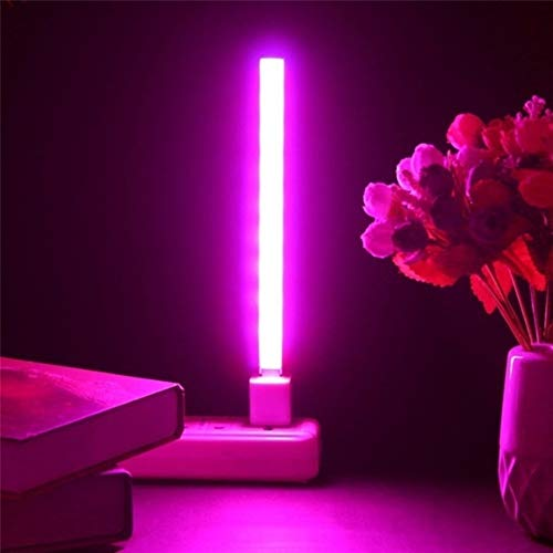 TDORA LED Grow Light for Indoor Plant,Dual Head USB LED Growing Lamp for Plant Growing Light
