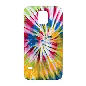 Tye Dye Tie Die Snap on Plastic Case Cover Compatible with Samsung Galaxy S5 GS5