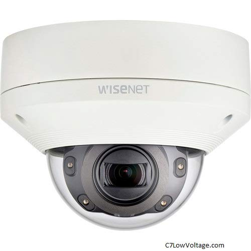 Hanwha Techwin XNV-6080 X Series 2MP Vandal-Resistant Outdoor Network Dome Camera with 2.8-12mm Lens & Night Vision