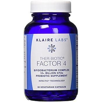 Klaire Labs Ther-Biotic Factor 4 (Bifidobacterium Complex) 60 Capsules (F)