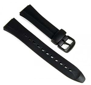Casio Correa de Reloj Resin Band negro WVA-105HE WVA-105HA WVA-105