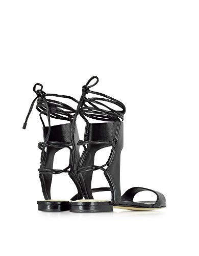 3 SHS6T207FBNBA010 Black Women's Sandals Phillip Leather Lim 1 FIqrFwUv