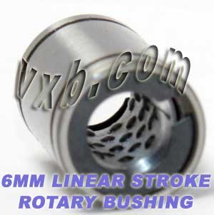 - 6mm Stroke Rotary Ball Bushings Bearing Linear Motion