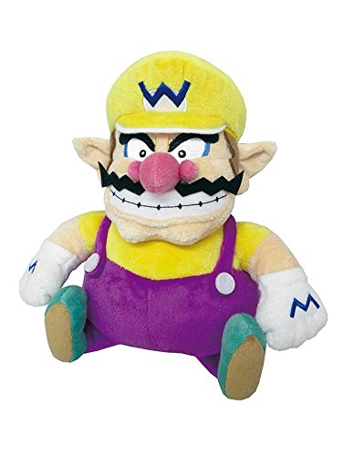 "Little Buddy Super Mario All Star Collection 1421 Wario Stuffed Plush, 10"" from Little Buddy"