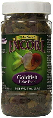 Encore Natural Goldfish Flake Food, 3-Ounce by F.M. Brown's