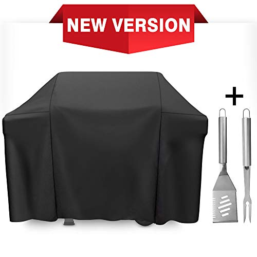 SHINESTAR 7139 Grill Cover for Weber Spirit 3 Burner Grill, Heavy Duty Grill Cover Fit for Weber Spirit 310/E310/330/E330, Spirit II 310/E310/330/E330 Grill, Fit All Spirit 300 Series Grill