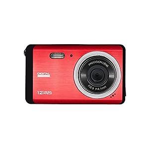 Mini Digital Camera, Vmotal 12 MP 3.0 Inch TFT LCD HD Digital Camera Red Color