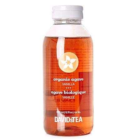 DAVIDs TEA - Organic Vanilla Agave Bottle