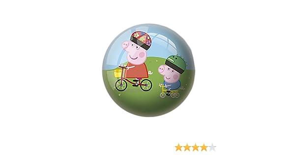 Peppa Pig- Pelota de 15 cm (Mondo 1317): Amazon.es: Juguetes y juegos