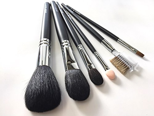 Ai brush Makeup Brush Set with Long handle for Professional (A Set of 6 brushes) by Ai brush
