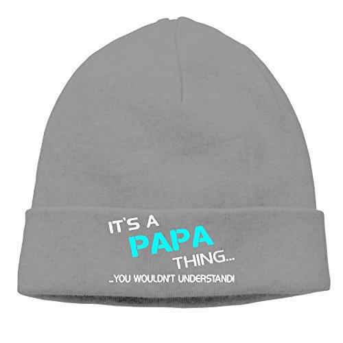 Su un Papa cosa–Usted no entender impresión Beanie gorro de esquí personalizado de invierno sombreros DeepHeather