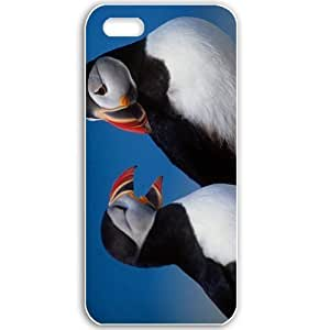 Apple iPhone 5 5S Cases Customized Gifts For Animals beautiful birds Animals Birds White