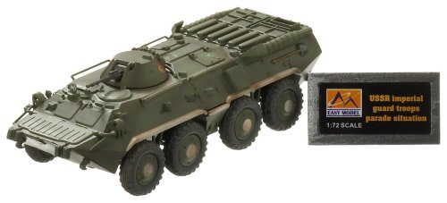 Easy Model Russian BTR-80 Apc Ussr Imperial Guard Troops Parade Situation Die Cast Military Land Vehicles -
