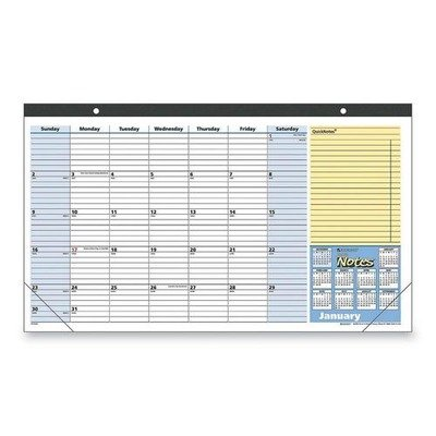 Mead Westvaco At-A-Glance QuickNotes 13-Months Desk Pad C...