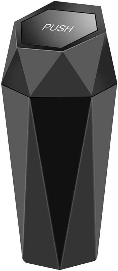 Ehicle Automotive Cup Holder M/ülleimer Kleiner Mini M/ülleimer Auto M/ülleimer F/ür Auto B/üro Home Office 4 Farben Auto Mini Halter M/ülleimer