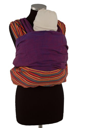 Ellaroo Wrap (Ellaroo Woven Wrap Baby Carrier ( Medium 4.6 m up to 160lbs and 5'8